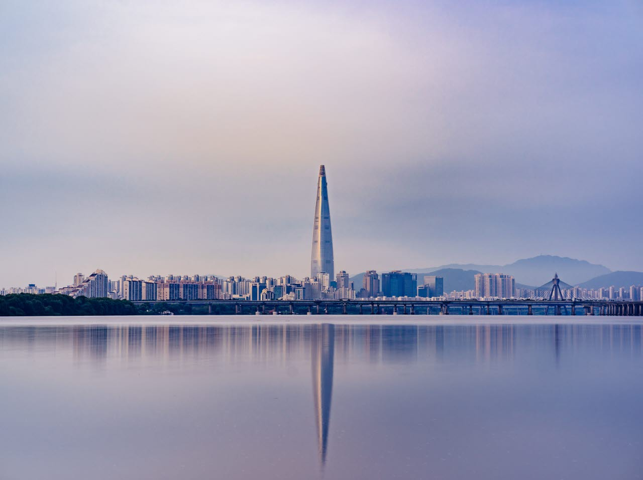 Seoul Korea Lotte Tower
