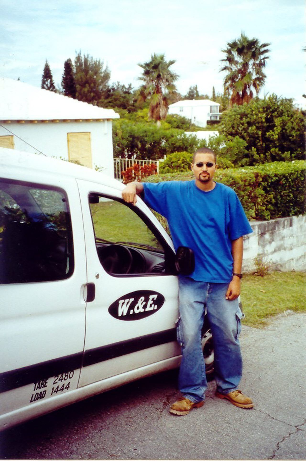 Shane Mcilwain - first day on the job 1999