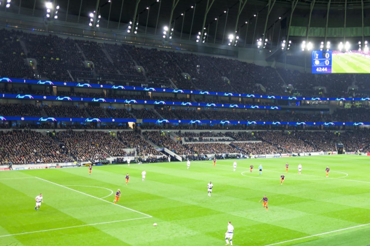 Tottenham football stadium